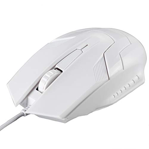LRL Computer Accessories Wired Mouse - Desktop Mouse Computer USB Consumables for Computer Games, Notebooks, Desktops, Office Games, Gaming, Boys and Girls Portable Computer Mice (Color : B)