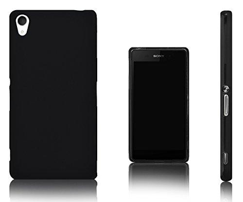 Xcessor Vapour Custodia per Sony Xperia Z2. Flessibile TPU Gel. Nero