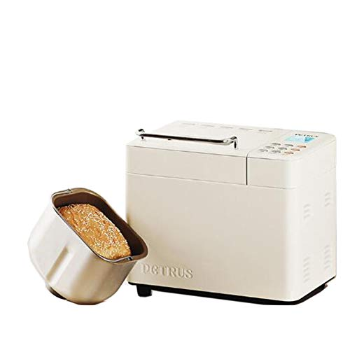 Read About WFLRF Bread Machine, Compact Fast Breadmaker, Fully Automatic Touch, LCD Display, Three B...