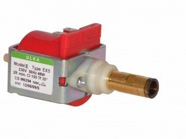 Ulka EX5 - Pompa dell'acqua elettrica, 230 V, universale, per macchina da caffè Saeco