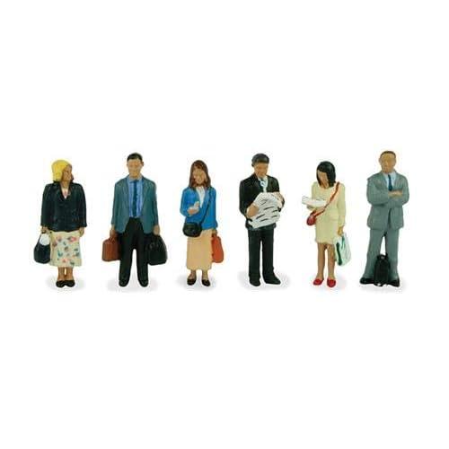 Bachmann 36-401 Trainspotters Figures 00 Gauge Model People