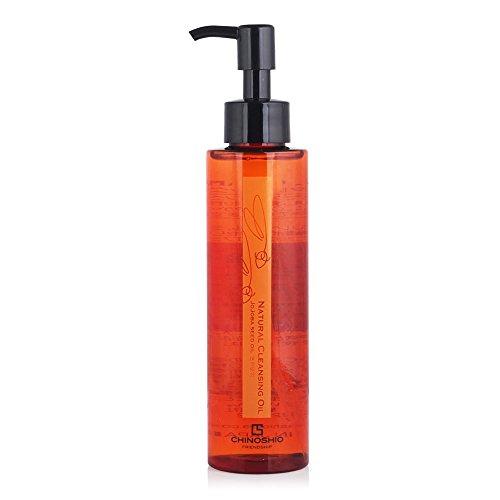 Chinoshio Natural Cleansing Oil (150ml 5.07oz) Jojoba Oil Makeup Natural Deep Cleanser