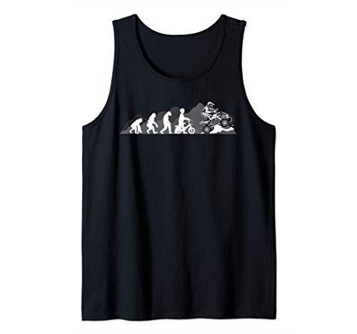 Evolution Quad Lustiges Quadfahrer ATV Geschenk Cooles Retro Tank Top