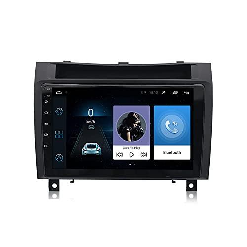 BIEKANNM Autoradio da 9 Pollici con Touch Screen Stereo per Mercedes Benz SLK R171 W171 2000-2011, Navigazione GPS/BT/WiFi/Mirrorlink/SWC/Telecamera Posteriore,8core-WiFi: 1+32G