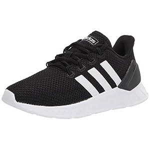 adidas Questar Flow NXT Running Shoe, Black/White/Black, 10.5 US Unisex Little Kid