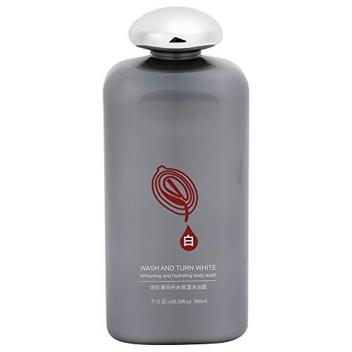 Gel de ducha blanqueador de 300 ml, hidratante de nicotinamida, limpieza profunda, calmante, cuidado de la piel, champú de baño para lavar