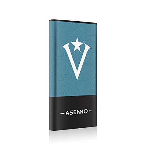 ASENNO - Disco duro externo de estado sólido, SSD, para PC y Mac, USB 3.0 (120 GB, 250 GB, 500 GB, 1 TB) ASP1 500GB