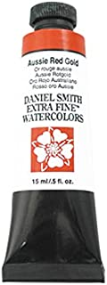 DANIEL SMITH Extra Fine Watercolor 15ml Paint Tube, Aussie Red Gold