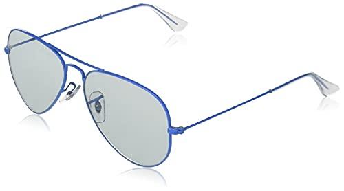 Ray-Ban Rb3025 Aviator Classic Evolve Photochromic Gafas, Light BLU, Standard para Hombre