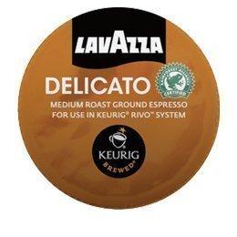 Lavazza Delicato, Espresso Packs for Keurig Rivo Systems by Lavazza [Foods] by Lavazza