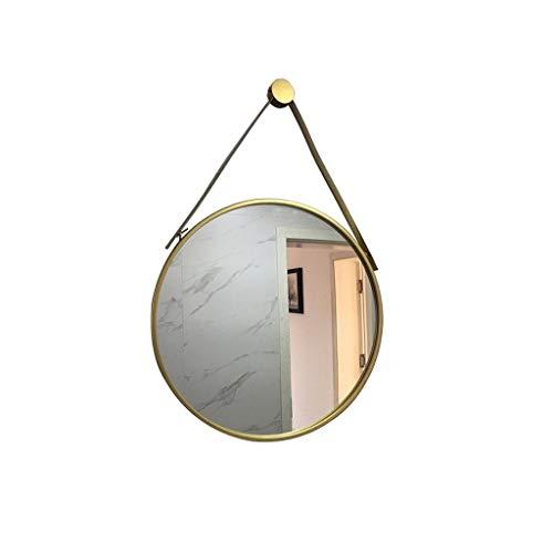 Aan De Muur Bevestigde Vanity Mirror, Nordic Grote Spiegel Simple Modern Bathroom Wc Ronde Spiegel Decoratie 70CM