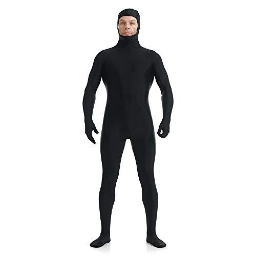 Crystally Kostüme für Erwachsene Zentai Anzug Einteilige volle Hände volle Füße Lycra Spandex Feste elastische Ganzanzug Bodysuit