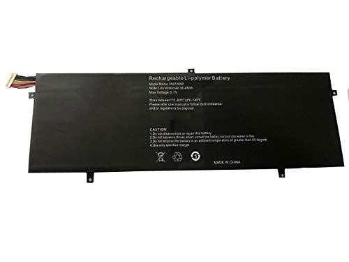 Bestome Batería de repuesto compatible con 7,6 V P313R para Jumper Ezbook 3 Pro 13,3' ezbook 3 Pro LB10 HW-3487265 Ezbook 3 Pro V3 V4
