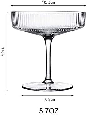 Wedding and New Years Party Color : Type-1 10Oz Champagne Coupe ...
