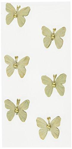 RÃ ¶ ssler 9007–178kupfer Perle Schmetterlinge Aufkleber–Vintage Rose vintage green