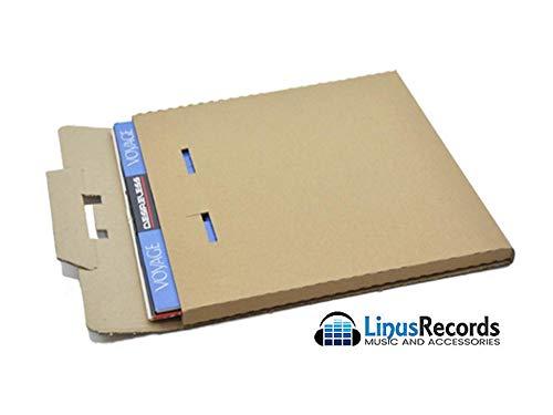 """LinusRecords 20 scatole in cartone rigido per spedire dischi in vinile (capienza 3 dischi 12"""")"""