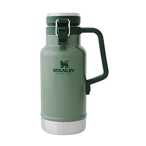 STANLEY(スタンレー) クラシック真空グロウラー 1L グリーン ビール 炭酸 保冷 アウトドア スポーツ観戦 保証 02111-013 (日本正規品)