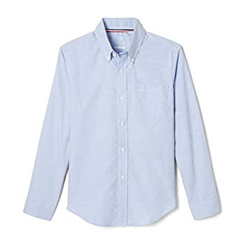 French Toast Big Boys  Long Sleeve Oxford Dress Shirt Light Blue 12