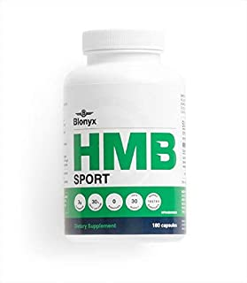 Blonyx HMB Sport - Improves Recovery, Decreases Soreness and Muscle Loss - 30-Day Supply