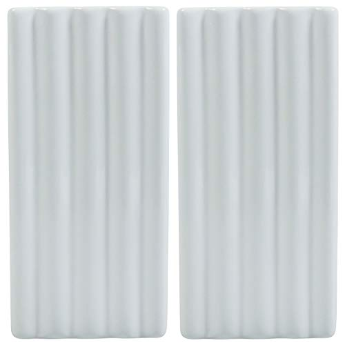 Viva-Haushaltswaren Wasser Verdunster Luftbefeuchter für Heizung/Flachheizkörper 2er Set (Relief Rillen)