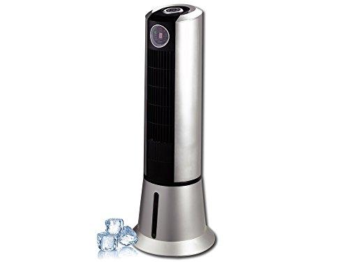 Birtman AIREPOD+H2O Ventilador Enfriador de Torre Evaporativo con Ionizador, Gris/Negro