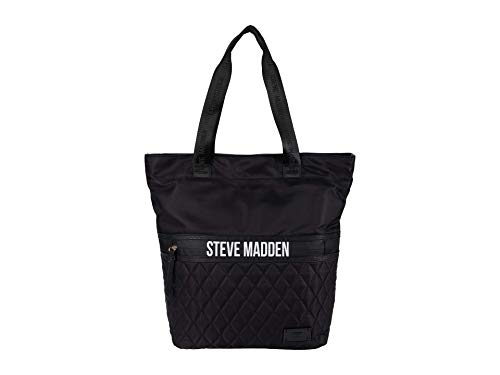 Steve Madden Btad Quilted Tote Black One Size