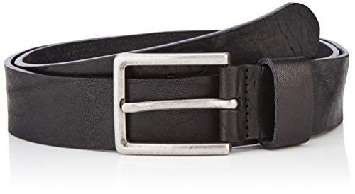 Guess Square Belt Cintura, Nero (Jet Black A996 JBLK), 115 (Taglia produttore:XL) Uomo
