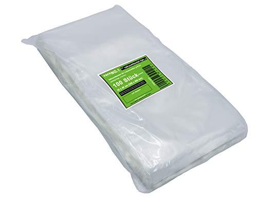 Sacs sous vide alimentaire 15x30 cm gaufrés sacs de conservation 100 sacs sous vide texturés