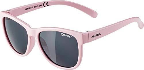 ALPINA Unisex - Kinder, LUZY Sonnenbrille, rose gloss, One size