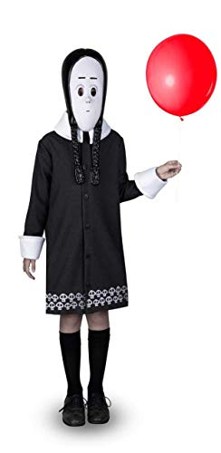my other me Disfraz de miércoles Addams Infantil (5 A 6 años)