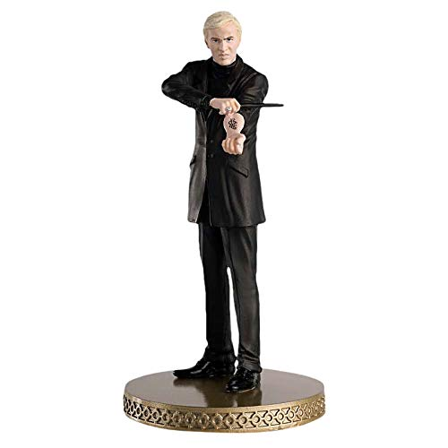 Eaglemoss Harry Potter Figur Draco Malfoy Todesser Wizarding World Figurine Collection mit Magazin 11cm Resin