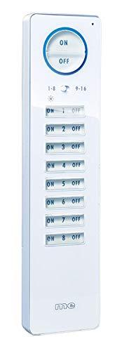 m-e Hausautomation CUVEO-Funk-Fernbedienung CT F16 W 16-Kanal weiß