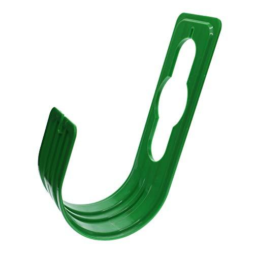 EUROXANTY® Soporte Manguera | Gancho Resistente | para Montar sin Agujeros | ABS | Jardinería | 22.5 * 7.5CM | Azul o Verde