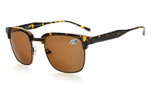 Eyekepper Bifocale zonnebril voor dames +3.00 R125-lenti Marrone