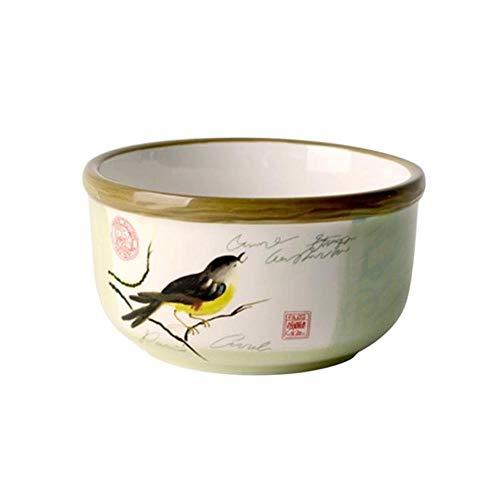 RMI Klassische Keramikschüssel, Suppe, Nudeln, Reisschale, Geschirr, handbemalte Keramikschüssel Magpie