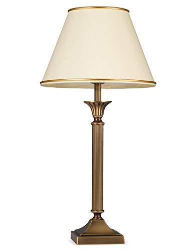 Helios Leuchten 403776/1 Vintage Lampe Leuchte | klassische Jugendstil Tischleuchte Tischlampe |...