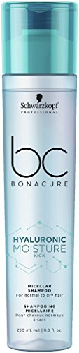 Schwarzkopf Professional BONACURE Hyaluronic Moisture Kick Micellar Shampoo, 3er Pack (3 x 250 ml)