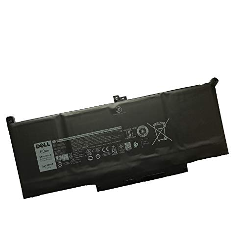 SANISI DELL F3YGT Notebook Battery 7.6V 60Wh for Dell Latitude 7280 7290 7380 7390 7480 7490 Laptop