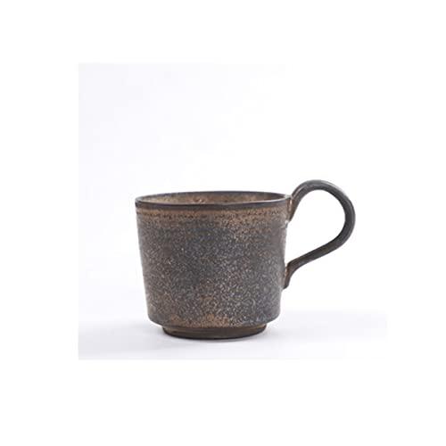 DSISI Taza de café de cerámica con asa, Taza de té para Oficina y hogar, 13 oz, lavavajillas y Caja Fuerte de microondas, 1 Piezas para Latte, café, Sopa, té, Cereal