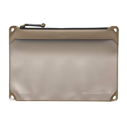 Magpul DAKA Window Pouch Zippered Tactical Range Tool and Gear Bag, Flat Dark Earth, Medium