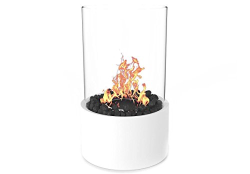 Buy Moda Flame GF307950WH Ghost Tabletop Firepit Ethanol Fireplace - White