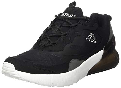 Kappa Durban, Zapatillas Unisex Adulto, 1110 Black/White, 46 EU