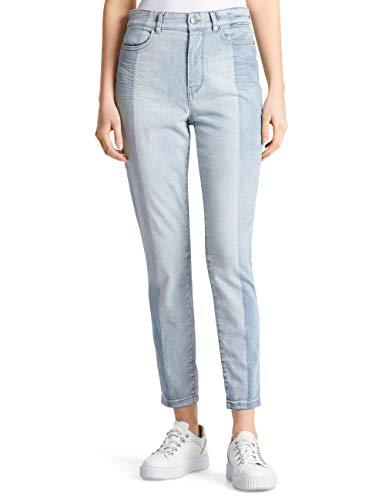Marc Cain Collections Jeans Pantaloni, Blu (Baby Blue 351), W28/L32 (Taglia Produttore: 4) Donna
