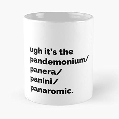 Pandemic Panini Panera Buy Tiktok Mood Panaromic Trends Best Taza de café de cerámica de 11 onzas