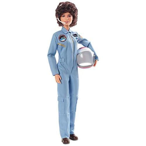 Barbie Inspiring Women, Bambola Sally Ride da Collezionare, FXD77, Multicolore