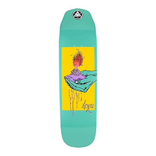 Welcome Tavola da skateboard Nora Vasconcellos Pro Model Soil on Wicked Queen 8.6' (Teal dip)