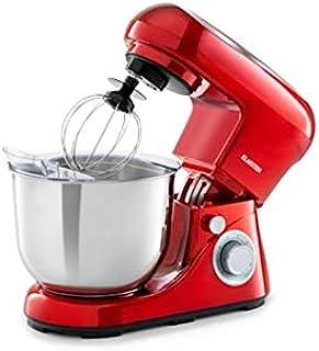 comprar comparacion Klarstein Bella Pico 2G - robot de cocina, mezclador de alimentos, 1200 W / 1,6 PS, 6 niveles con efecto pulso, sistema de...