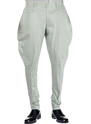 Bagtesh Fashion Mens Gainsboro Color Cotton Jodhpurs Polo Pant Breeches MT0115 (36 Waist)