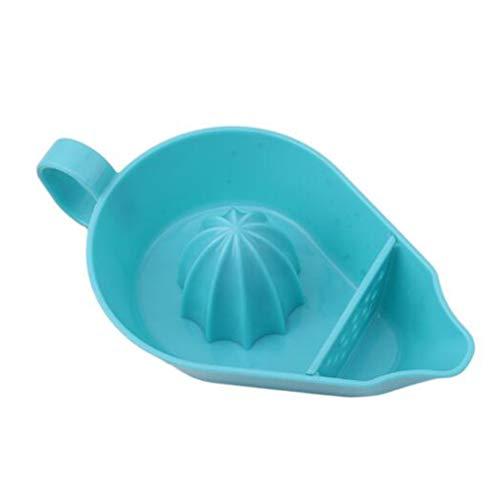 #N/A Sawyerda - Exprimidor de mano con bolsa de filtro para cocina al aire libre, color azul