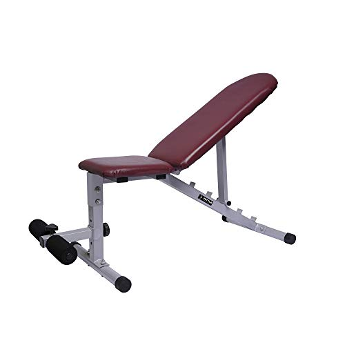 FETTLE FT-094 Adjustable Dumbbells Fly Bench for Multiple Workouts and Strength Training Multipurpose Fitness Bench